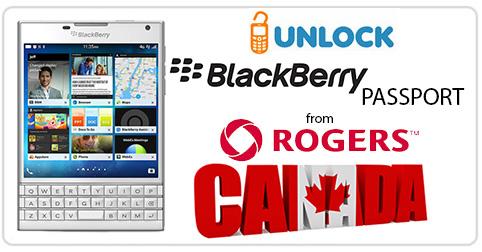 Unlock Blackberry Passport from Rogers Canada