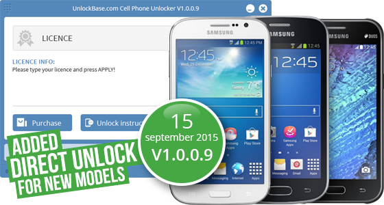 Unlock by Cable Samsung Galaxy Grand Plus, Trend 2 and J1