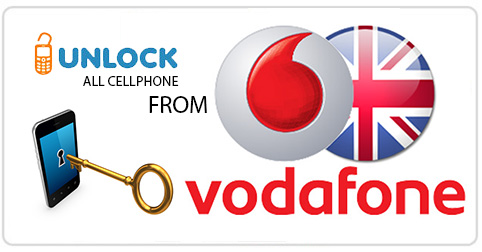 Unlock Cell Phone from Vodafone United Kingdom