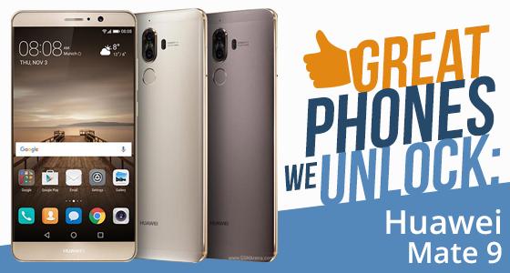 Unlock Huawei Mate 9