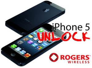 Unlock iPhone 5 from Rogers Canada