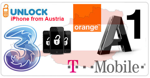 Unlock iPhone from Austria