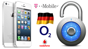 Unlock iPhone from T-Mobile, O2 & Vodafone Germany