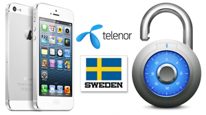 Unlock iPhone from Telenor Sweden