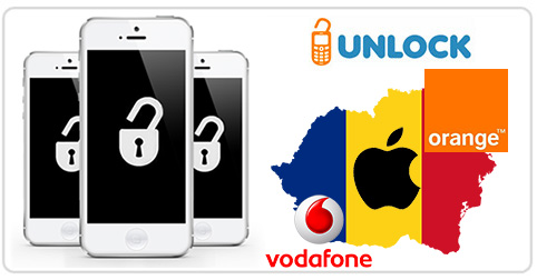 Unlock iPhone from Vodafone and Orange Romania