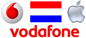 Unlock iPhone from Vodafone Netherlands