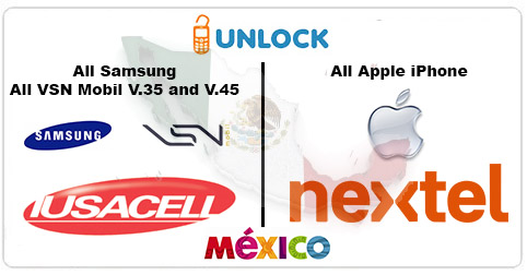 Unlock Mexican Cell Phone