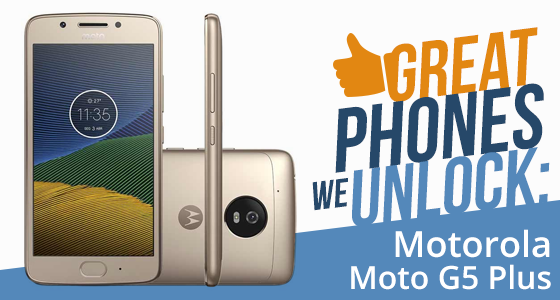 Unlock Motorola G5 Plus