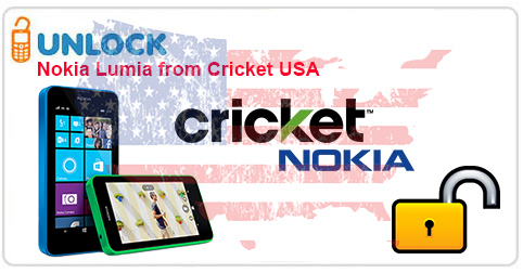 Unlock Nokia Lumia from Cricket USA