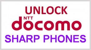 Unlock NTT & DoCoMo Sharp Cellphone