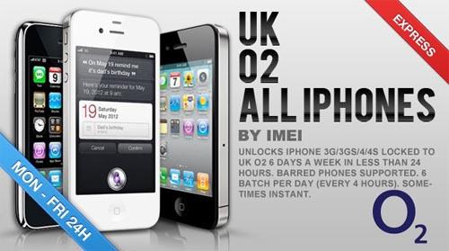 Unlock O2 United Kingdom Discoutn