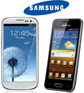 Unlock Samsung Galaxy S III and Galaxy S Advance