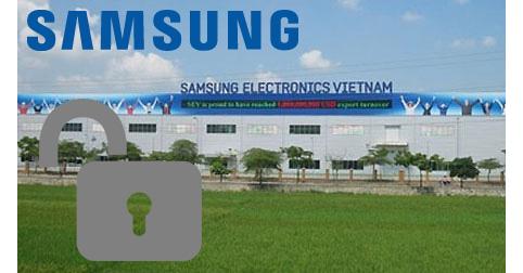 Unlock Samsung Made in Vietnam