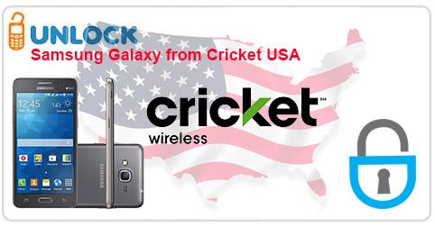 Unlock Samsung Galaxy phone from Cricket USA