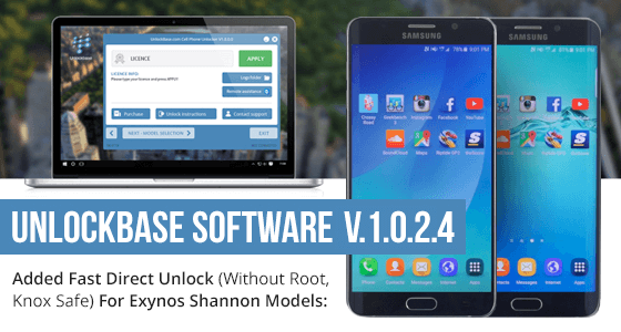 UnlockBase Software Update v1.2.0.4