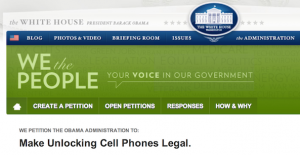 White House Pushes for Cell Phone Unlocking to be Made Legal