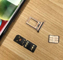 iPhone unlocking SIM